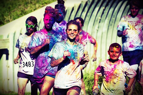 the color in motion 5k color run dallas